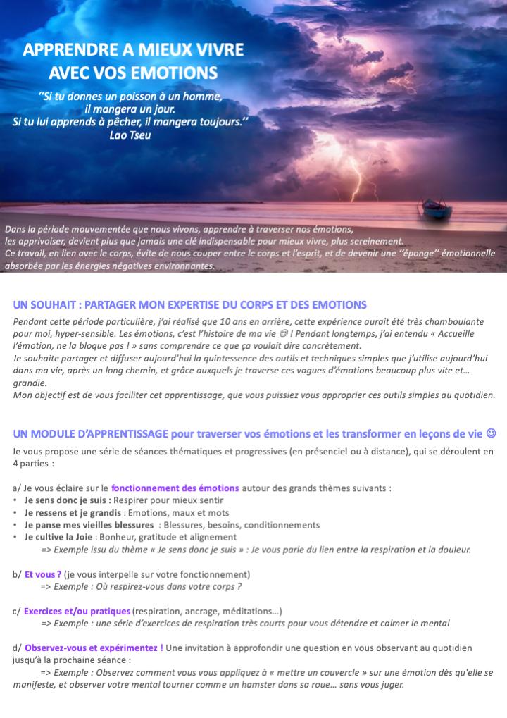 Soirée-Partage Oser Être Soi, le 17 mars 2020 à 19h30